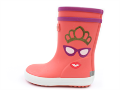 Aigle Baby Flac rubber boots princess