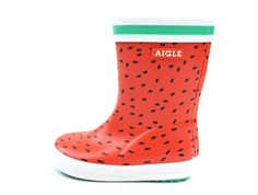 Aigle Baby Flac rubber boot pasteque