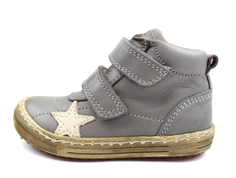 Bisgaard leather boot gray with star