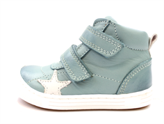 Bisgaard leather boot mint with star