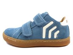 Bisgaard sneaker blue with white bows
