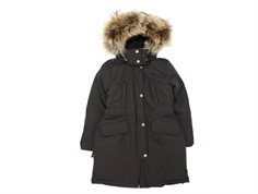 Ver de Terre girl winter coat arctic with down coffee
