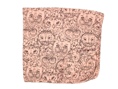 Soft Gallery blanket coral owl