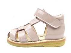 Angulus sandal pink lacquer