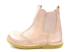Bisgaard ancle boot rose gold with elastic