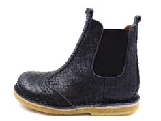 Bisgaard ancle boot black with elastic