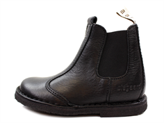 Bisgaard ancle boot black zippered