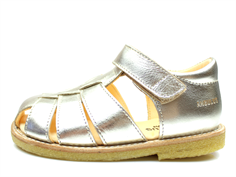 Angulus sandal champagne with velcro