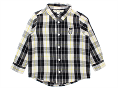 Soft Gallery shirt Bentley black/yellow check