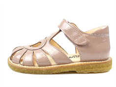 Angulus sandal rose lacquer with heart