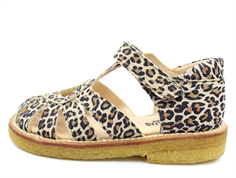 Angulus sandal leopard with heart