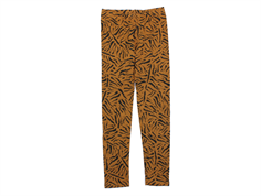 Soft Gallery leggings Paula buckthorn brown tigers