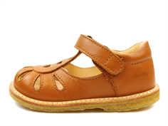 Angulus sandal cognac with hearts