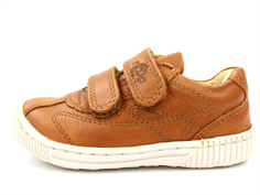 Arauto RAP leather shoes tan/cognac with velcro