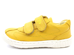 Arauto RAP leather shoes yellow with velcro