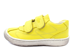 Arauto RAP leather shoes cari yellow with velcro
