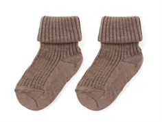 MP socks wool sienna brown (2-Pack)