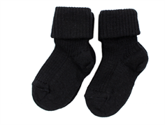 MP socks wool black (2-Pack)