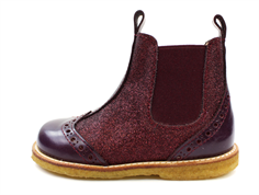 Angulus ancle boot amarone glitter