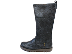 Bisgaard winter boot black snake with zipper and TEX
