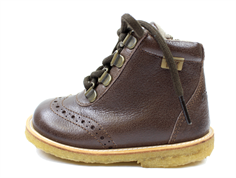Bisgaard winter boots brown with velcro and TEX