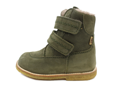 Bisgaard winter boots army with velcro and TEX