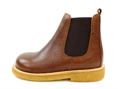 Angulus winter ancle boot light cognac with woollining
