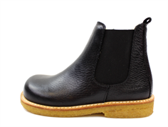Angulus ancle boot black with wool lining