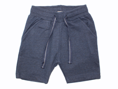 Small Rags sweat shorts navy blue iris