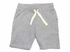 Small Rags sweat shorts neutral gray