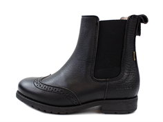 Bisgaard winter ancle boot black with elastic and TEX