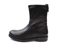 Bisgaard winter boot black zip and TEX