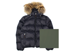 Ver de Terre down jacket black