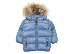 Ver de Terre baby down jacket polar blue