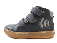 Bisgaard winter sneaker anthracite with velcro and TEX