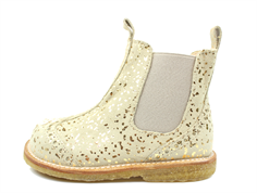 Angulus ancle boot beige/gold