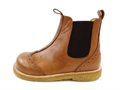 Angulus ancle boot cognac/brown