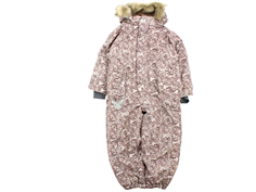 Wheat snowsuit Moe rose flower powder