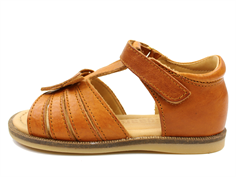 Bisgaard sandal cognac with butterfly