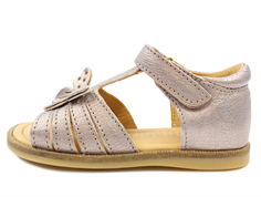 Bisgaard sandal stone metallic with butterfly