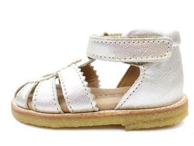 Bisgaard silver sandals with velcro