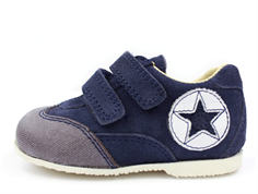 Arauto RAP shoes navy suede with velcro