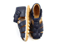 Bisgaard sandal navy with velcro