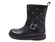 Angulus winter boot black with stars and TEX