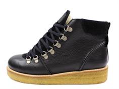 Angulus black winter boots with laces and TEX