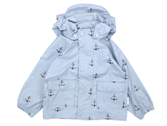 Mini A Ture Charlene raincoat violet ice with birds