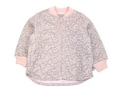 Wheat Loui thermal jacket dusty lilac with flowers