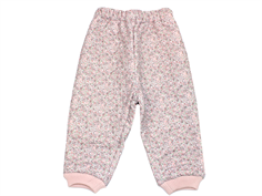 Wheat Alex thermal trousers dusty lilac with flowers