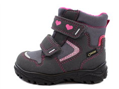 Superfit winter boot Husky grau/pink with GORE-TEX