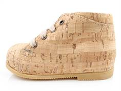Arauto RAP toddler shoe natural cork with laces